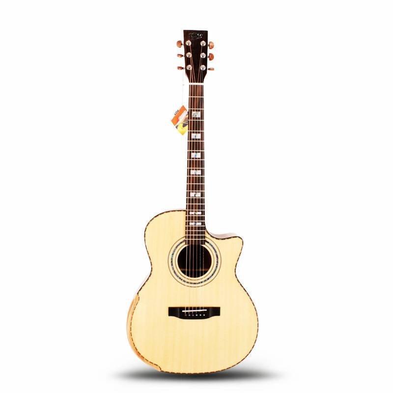 Qteguitar 41 inch armrest acoustic guitar MD-81