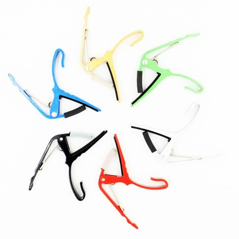artiny cheap guitar capo difference colors for Acoustic and Electric Guitars Also for Ukulele, Banjo and Mandolin