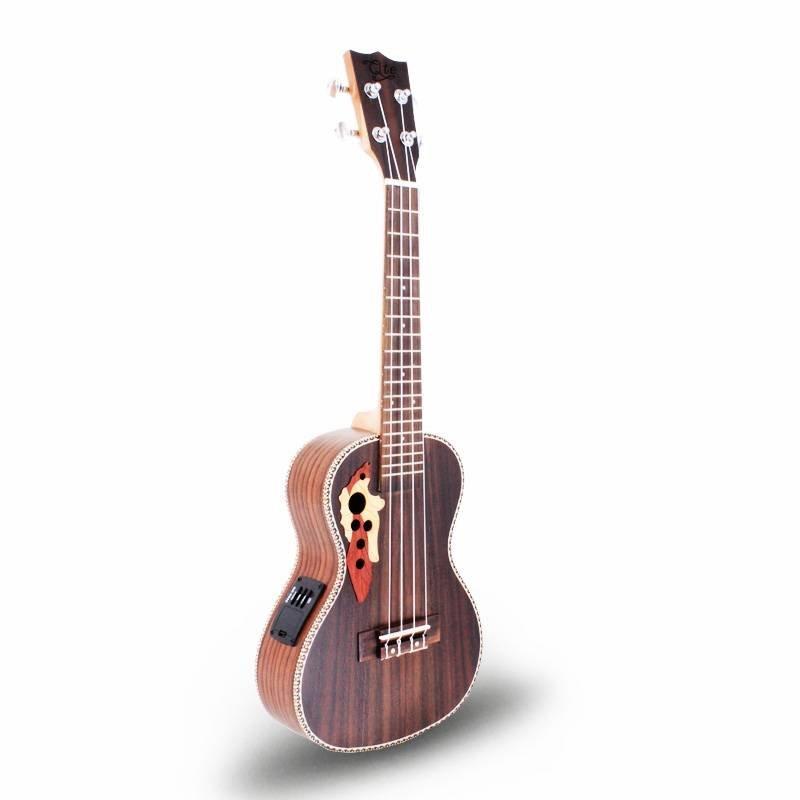 Qte kindergitarre guitar 23inch janpese style ukulele concert 24ME